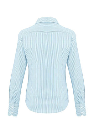 Biz Corporates-Biz Corporates Vermont Ladies Long Sleeve Shirt--Corporate Apparel Online - 6
