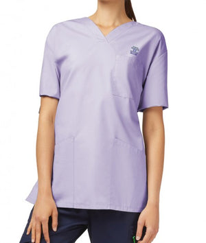 NNT Uniforms Santa Scrub Top (CATREE)