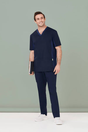 Biz Care Mens Riley Straight Scrub Pant (CSP047ML)