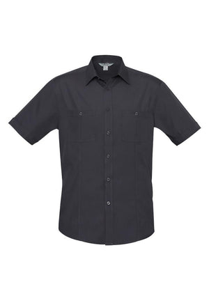 Biz Collection Mens Bondi Short Sleeve Shirt (S306MS)
