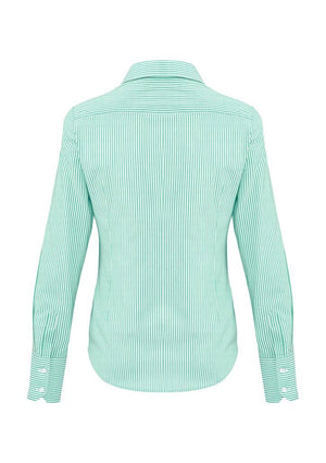 Biz Corporates-Biz Corporates Vermont Ladies Long Sleeve Shirt--Corporate Apparel Online - 8