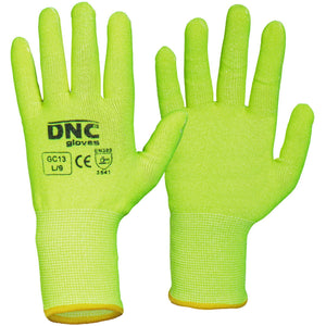 DNC Workwear-DNC Hivis Cut5 Liner-HiVis Yellow / S-Uniform Wholesalers