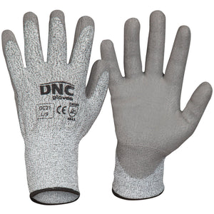 DNC Workwear-DNC Cut5-PU-S / Grey /Grey-Uniform Wholesalers
