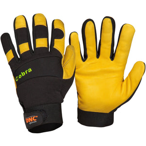 DNC Workwear-DNC COBRA-M / Yellow/Black-Uniform Wholesalers