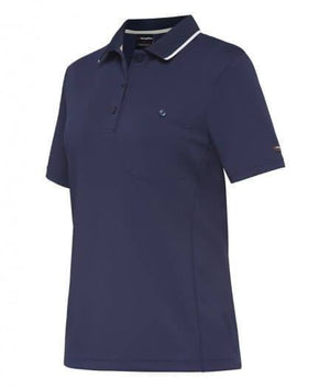King Gee Workcool Women's Hyperfreeze Spliced Polo S/S (K44740)