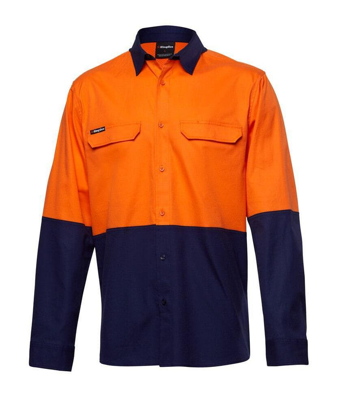 King Gee Workcool Pro Spliced Shirt L/S (K54027)