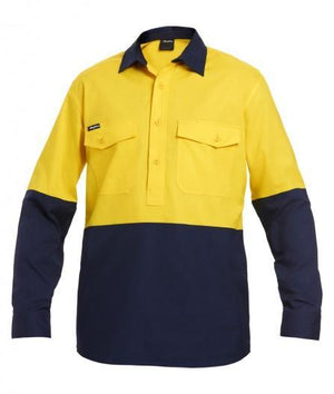 KingGee Workcool 2 Spliced Closed Front Shirt L/S (K54876)
