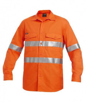 KingGee Workcool 2 Hi-Vis Reflective Shirt Long Sleeve (K54890)