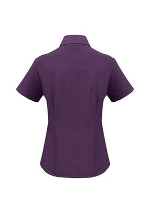 Biz Care Ladies Plain Oasis Short Sleeve Shirt (LB3601)