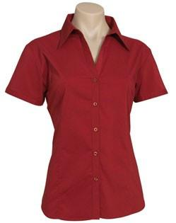 Biz Collection Ladies Metro Shirt - S/S 2nd ( 4 Colour) (LB7301)