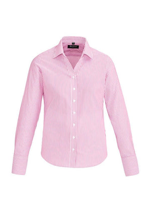 Biz Corporates-Biz Corporates Vermont Ladies Long Sleeve Shirt-Melon / 4-Corporate Apparel Online - 9