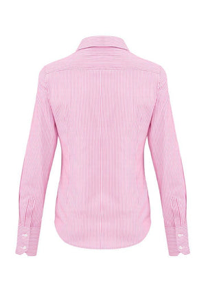 Biz Corporates-Biz Corporates Vermont Ladies Long Sleeve Shirt--Corporate Apparel Online - 10