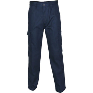 DNC Workwear-DNC Patron Saint Flame Retardant ARC Rated Cargo Pants-Navy / 72R-Uniform Wholesalers