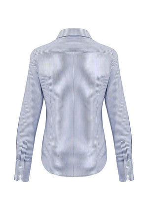 Biz Corporates-Biz Corporates Vermont Ladies Long Sleeve Shirt--Corporate Apparel Online - 4