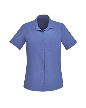 Biz Care Womens Florence Short Sleeve Shirt (2st 2 Colors) (CS947LS)