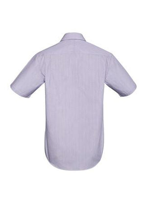 Biz Corporates-Biz Corporates Calais Mens Short Sleeve Shirt--Corporate Apparel Online - 3