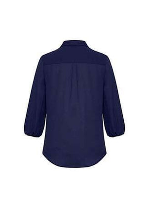 Biz Corporate Womens Lucy 3/4 Sleeve Blouse RB965LT