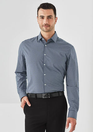Biz Corporate Mens Noah L/S Shirt (RS070ML)