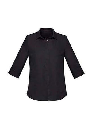 Biz Corporate Womens Charlie 3/4 Shirt RS968LT