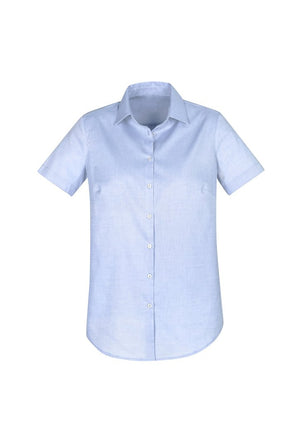 Biz Collection Camden Ladies Short Sleeve Shirt (S016LS)