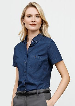 Biz Collection Indie Ladies Short Sleeve Shirt (S017LS)