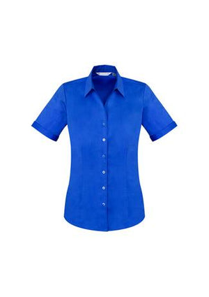 Biz Care Ladies Monaco Short Sleeve Shirt (S770LS)