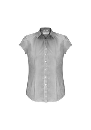 Biz Collection Ladies Euro Short Sleeve Shirt-(S812LS)