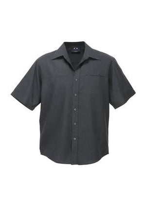 Biz Care Mens Plain Oasis Short Sleeve Shirt (SH3603)