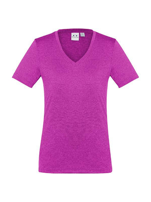 Biz Collection Ladies Aero Tees -1st 10 colors( T800LS)