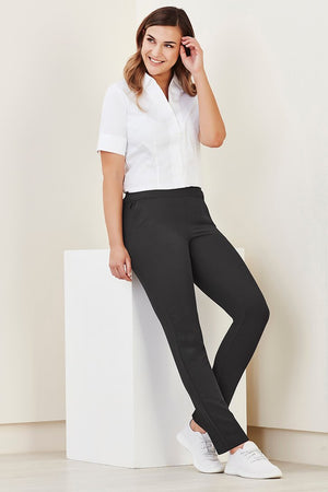 Biz Care Womens Jane Ankle Length Stretch Pant  (CL041LL)