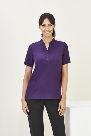 Biz Care Womens Easy Stretch Tunic(2nd 1 Color) (CS949LS)