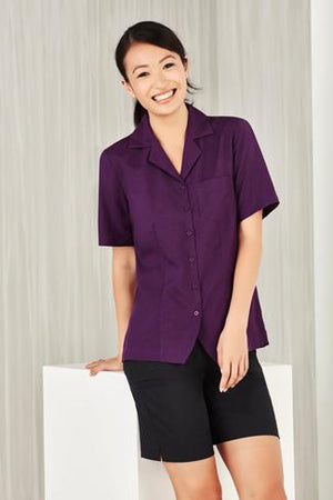 Biz Care  Ladies Plain Oasis Overblouse (S265LS)