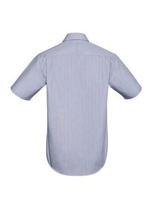 Biz Corporates-Biz Corporates Calais Mens Short Sleeve Shirt--Corporate Apparel Online - 5