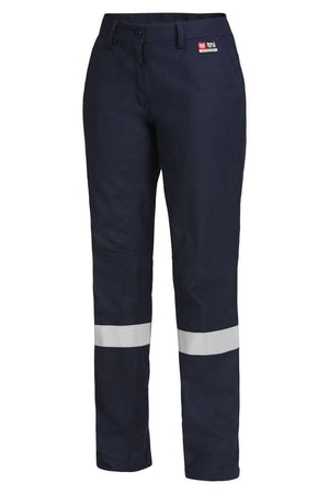 Hard Yakka Women'S Shieldtec Fr Flat Front Pant With Fr Tape (Y02325)