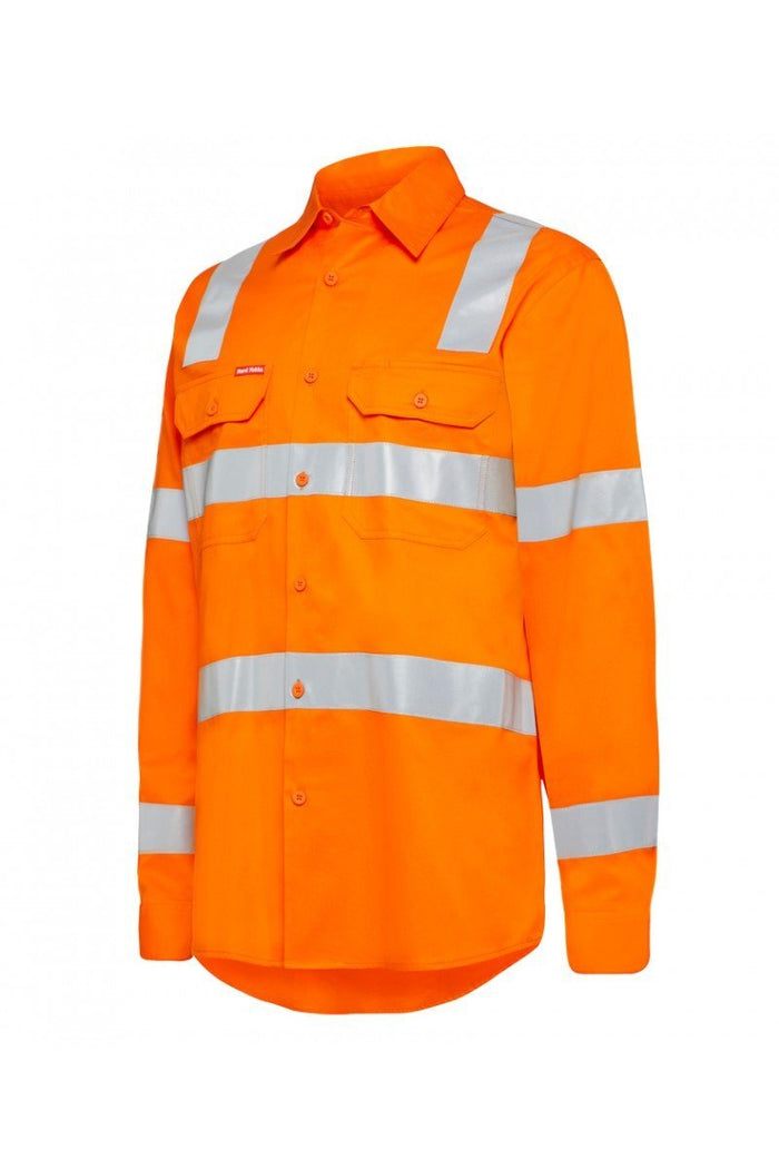 Hard Yakka BiomotionHi Vis Shirts with tape (Y04265)