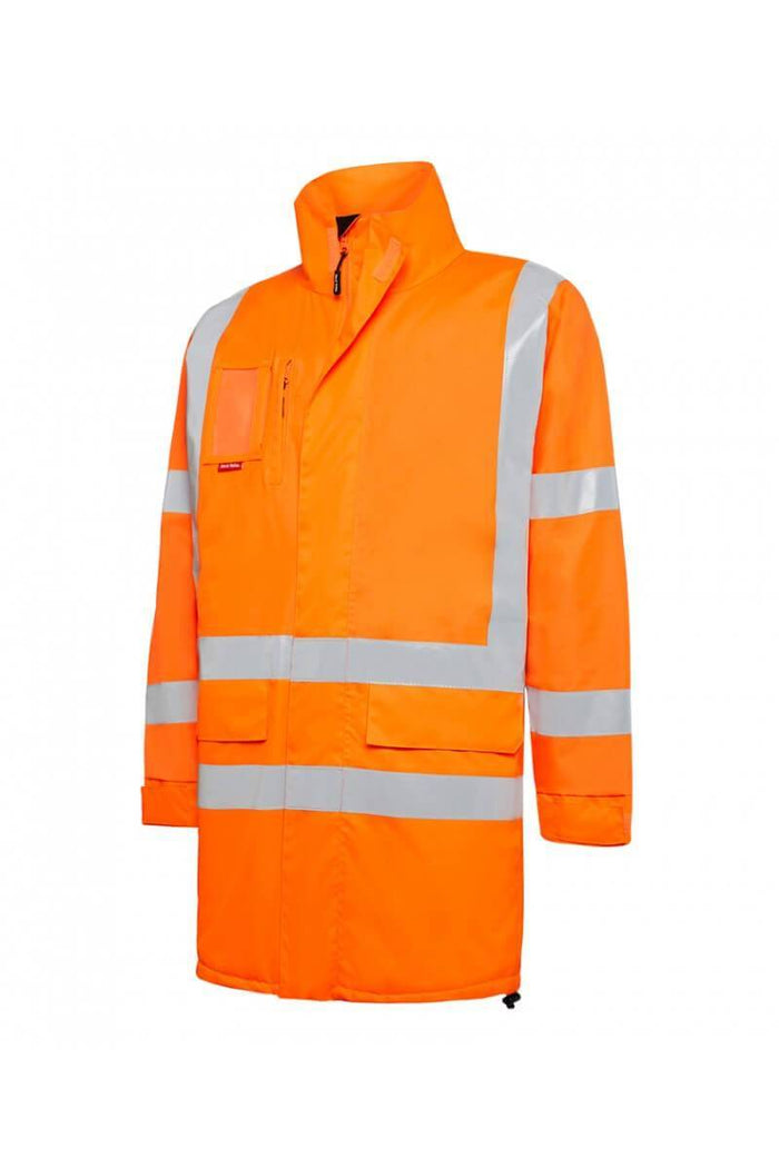 Hard Yakka Biomotion Hi Visibility Quilted Jacket with tape (Y06740)