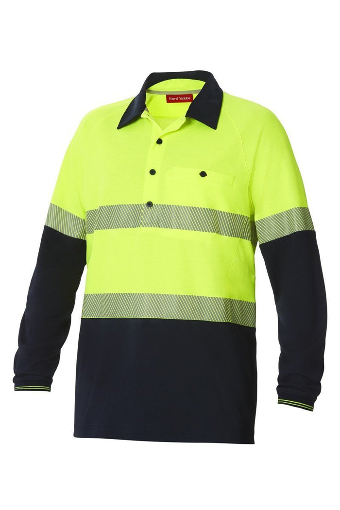 Hard Yakka - Y11379 Koolgear Spliced Taped Polo (Y11379)