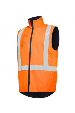 Hard Yakka Hi Vis Vests With Tape (Y21480)