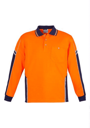 Syzmik ZH238 Day Only Squad Polo - Long Sleeve