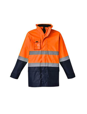 Syzmik Mens Hi Vis Basic 4 In 1 Waterproof Jacket (ZJ220)
