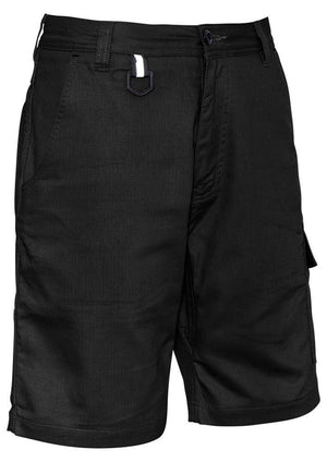 Syzmik-Syzmik Rugged Shorts-Black / 72-Uniform Wholesalers - 1