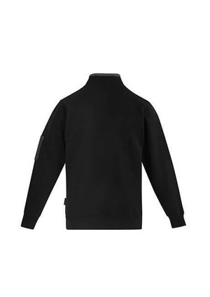 Syzmik Mens 1/4 Zip Brushed Fleece (ZT366)