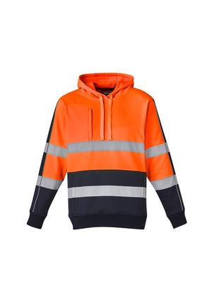 Syzmik Unisex Hi Vis Stretch Taped Hoodie (ZT483)