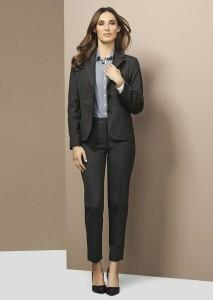 Biz Corporates Ladies Short-Mid Length Jacket (64011)