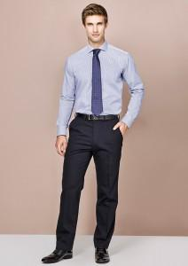Biz Corporates-Biz Collection Mens Adjustable Waist Pant--Corporate Apparel Online - 1