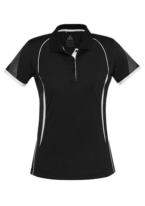 Biz Collection Ladies Razor Polo (P405LS)
