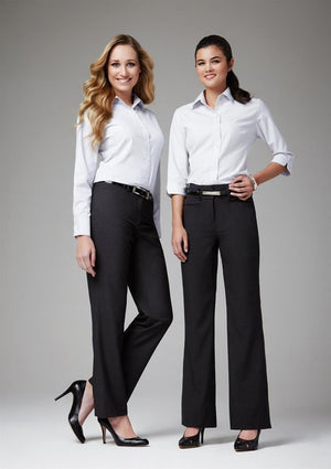 Biz Collection Ladies Classic Bootleg pant (BS127LL)