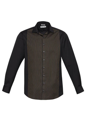 Biz Collection Mens Reno Panel L/S Shirt (S414ML)