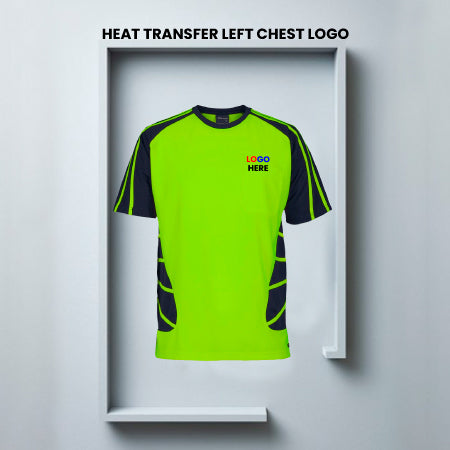 Full Color Heat Transfer-Left/Right Chest-Logos