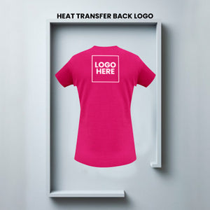 Single Color Heat Transfer-Front/Back Logos